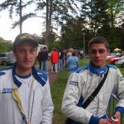 Gregoire Julien 1er Rallye